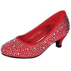little girls high heel shoes pumps