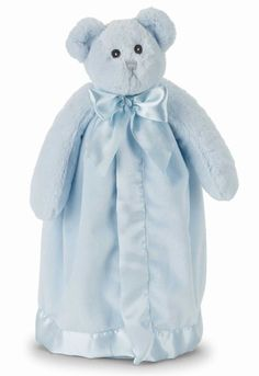 Bear Hugs Snuggler is 18 inches of the softest fabric. PERSONALIZED FREE IF YOU MENTION PINTEREST.Great baby shower gift.$17.95