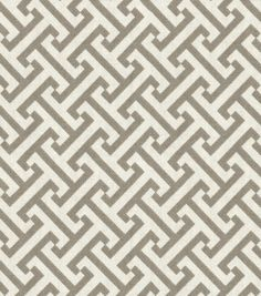 Pkaufmann Cross Section Fabric, Charcoal - contemporary - upholstery fabric - Jo-Ann Fabric and Craft Store