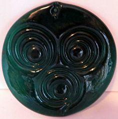 Holmegaard glass Suncatcher.