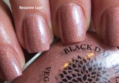 Black Dahlia Lacquer Capital Rose Garden, from the Capital Collection, 3 coats with top coat