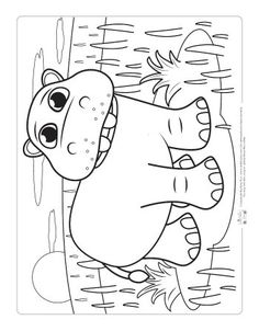 Safari and Jungle Animals Coloring Pages for Kids - July Zoo animals - Animals Pictures Safari Crafts, Jungle Crafts, Zoo Animal Coloring Pages, Colouring Pages, Jungle Decorations, Colorful Animals, Coloring Pages For Kids, Kids Coloring, Safari Animals