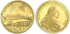 German States/Regensburg AV 3 Dukaten ND Kaiser Franz I 1745-65