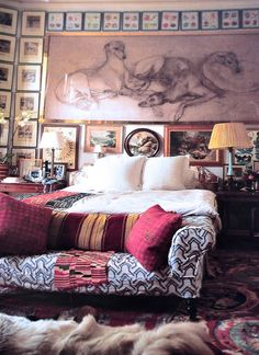What a room and drawing!!                 Photo by James Merrell
