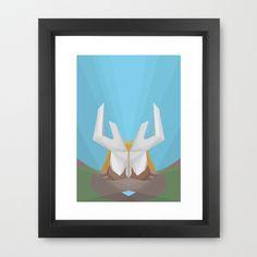 Father Earth Framed Art Print by Bálint Gáspár - $38.00