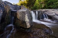 Jackson Falls is a series of seemingly endless cascades located in Jackson New Hampshire. With endless opportunities for composition there's no reason to walk away empty handed.