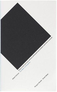 The Myth Of Sisyphus  Author: Albert Camus  Publisher: Penguin Books Ltd  Publication Date: November 30, 1999  Genre: Fiction  Design Info:  Designer: David Pearson