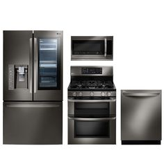 Discover The LG Black Stainless Steel Series, Featuring A Black Stainless  Steel Finish And Technology · New KitchenKitchen SinksKitchen ...