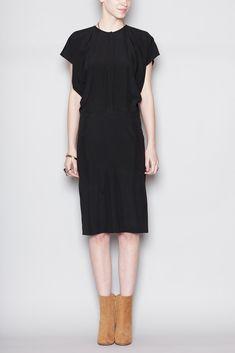 Zero + Maria Cornejo Mati Dress (Black)