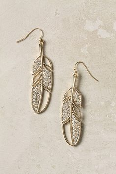 I should wear earrings more often.. especially a pair as lovely as these