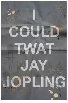 "Saatchi Art Artist Derek Walker; Drawing, ""I could twat Jay Jopling (limited edition print 8/50)"" #art"