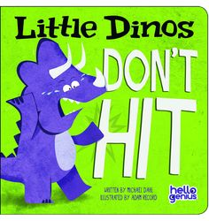 Book • Little Dinos Don´t Hit