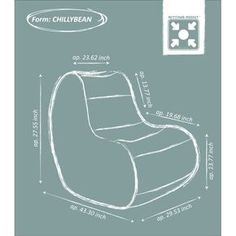 Bean Bag Chair Pattern Free