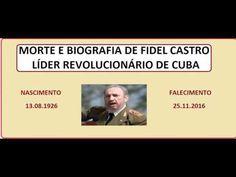 CURSO DE HISTÓRIA  E ATUALIDADES MORTE E BIOGRAFIA DE FIDEL CASTRO FALEC... https://youtu.be/0Rh99Ip-cYg