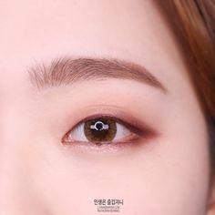 korean makeup – Hair and beauty tips, tricks and tutorials Monolid Eyes, Monolid Makeup, Korean Eye Makeup, Asian Makeup, Korean Wedding Makeup, Natural Eye Makeup, Eye Make Up, Simple Makeup, Makeup Trends