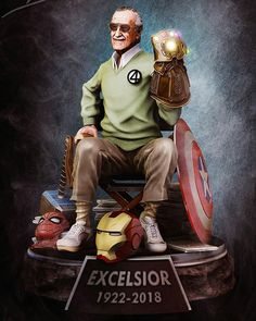 Nuestro homenaje al más grande de los superhéroes del #UniversoMarvel, #StanLee, hoy estaría cumpliendo 96 años. ¡Feliz cumple Stan! . . .…