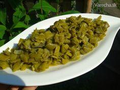 Tereyağlı yeşil fasulye - Zelená fazuľka na masle