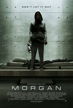 Morgan - Review: Morgan (2016) is a 1h 32-min rated R American science-fiction mystery horror film from 20th Century Fox… #Movies #Movie