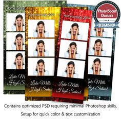 379 Best Photobooth Template Options Images Photo Booth