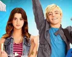 I give my one friend the EXACT same look that Ally (Laura Marano) is giving Austin (Ross Lynch) when he acts weird...!