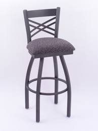 """820 Catalina Swivel 30"""" [820 30""""]The 820 Catalina 30"""" Swivel Bar Stool is manufactured from high quality plating grade steel, all finishes feature an oven baked epoxy/polyester powder coating to resist scuffing, chipping, & peeling.  $277.99"""