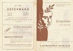 Wels Oberösterreich Theater Variete  1940iger Jahre Walter Golger Weibscheue Hof Theater, Personalized Items, Ebay, Wels, Linz, Teatro, Theatres
