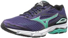 low priced 5a531 b82aa Mizuno Women s Wave Legend Running Shoe, Mulberry Purple-Electric  Green-Black, 6 B US