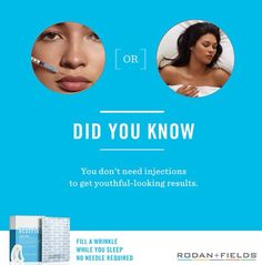 Get youthful looking skin! Rodan + Fields Whitneynowak.myrandf.com