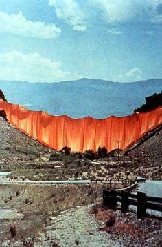Christo, Valley Curtain, 1970-72
