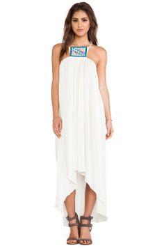 6 SHORE ROAD Hamptons Beach Dress in Mineral