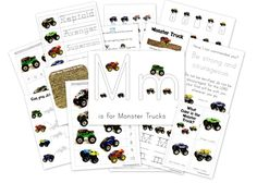 Tons of Preschool and Kindergarten Printables for Learning