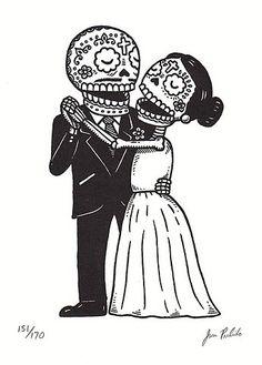 Lovers. El Día de los Muertos