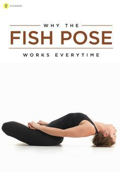 Matsyasana or the fish pose is believed to be a cure a for many diseases. Here are the instructions on how to do this pose and a list of its many ... #yogaposes