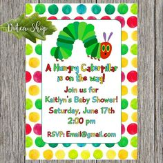 www.dotcashop.ca  The caterpillar baby shower is here  #veryhungrycaterpillar  #veryhungrycaterpillarparty  #veryhungrycaterpillars  #dotcamom