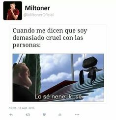 Read from the story 𝓜𝓸𝓶𝓸𝓼 𝓹𝓪𝓵 𝓱𝓮𝓪𝓻𝓽 by (𝖈𝖍𝖆𝖕𝖎𝖘) with reads. Best Memes, Funny Memes, Jokes, Pinterest Memes, Spanish Memes, Funny Spanish, Disney Quotes, Disney Memes, Funny Photos