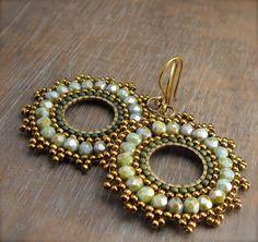 Lovely beaded earrings