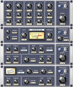Channel Strip Plug-In - All-In-One Channel Strip Plug-In Featuring EQ, Dynamics, Modulation and Reflection Engines. Home Studio Equipment, Studio Gear, Sound Studio, Home Studio Music, Slate Digital, Music Production Equipment, Steinberg Cubase, Recording Booth, Recorder Music