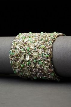 Fresh Greens Couture Cuff