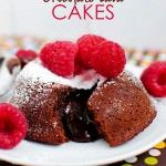 Molten Chocolate Lava Cakes - Iowa Girl Eats So good, not too sweet and so easy to put together. Just Desserts, Delicious Desserts, Dessert Recipes, Yummy Food, Cupcakes, Cupcake Cakes, Chocolate Lava Cake, Chocolate Desserts, Yummy Treats