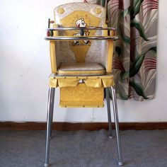 photos of antique baby items Vintage High Chairs, Potty Chair, Adirondack Chair Cushions, Baby Equipment, Congratulations Baby, Retro Baby, Patterned Vinyl, Vintage Nursery, Vintage Dolls