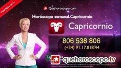 video Horóscopo semanal CAPRICORNIO del 10 Febrero 2014