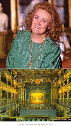 Dramatic-coloratura soprano, Dame Joan Sutherland/Margravial Opera House -- Bayreuth, Germany - created via http://pinthemall.net