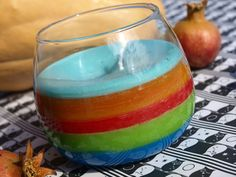 καρυδότσουφλο : Ένα πολύχρωμο κερί φτιαγμένο από απομεινάρια κεριώ...