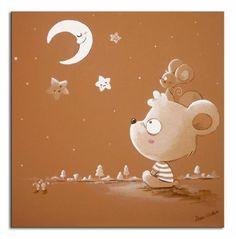 DVC _ Cuadro Oso y luna