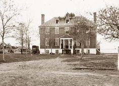 Yorktown, Virginia (vicinity). Farenholt's house, It was made in 1862