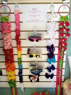 Gotta have bows and sunglasses!