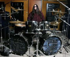 bad ass drummer and drumkit!