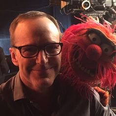 @clarkgregg-Recruiting some serious talent for #agentsofSHIELD #Animal #theMuppets @themuppetsabc