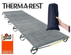 LuxuryLite UltraLite Cot Therm a Rest - less than a kg...