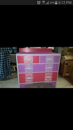 Pretty little dresser drawers